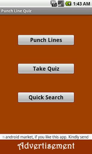 Punch Line Quiz - 2013