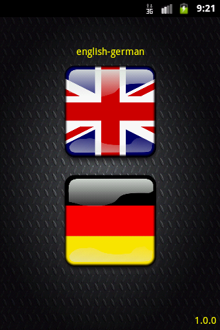 English-German Lexicon
