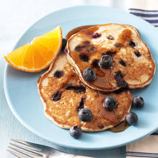 Blueberry Buckwheat Pancakes.