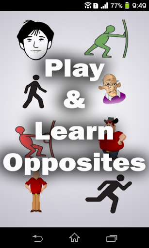 Play And Learn Opposites