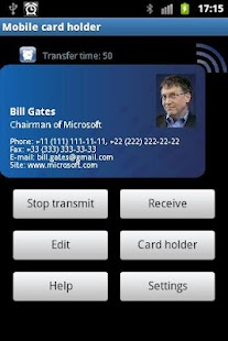 Manager of business cards