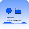 civil water flow calculator logo