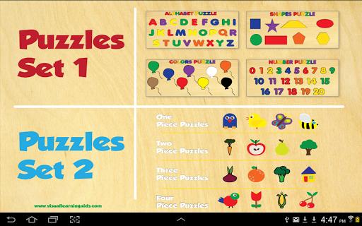 20 Children's Wooden Puzzles