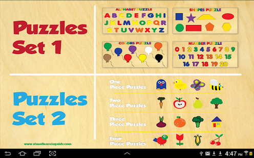 20 Children's Wooden Puzzles- screenshot thumbnail