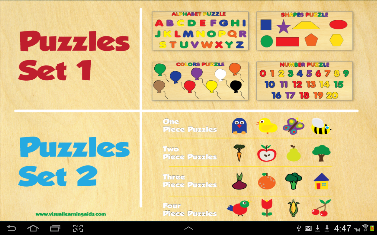 20 Children's Wooden Puzzles- screenshot