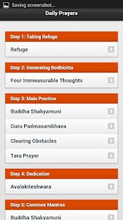 Daily Buddhist Prayers - screenshot thumbnail