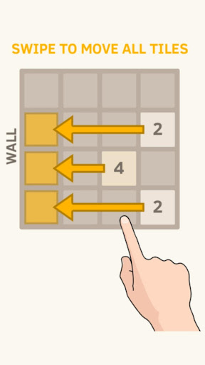 2048 - Touch The Tiles