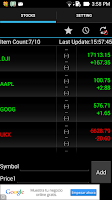 Screenshot of Stock Alarm