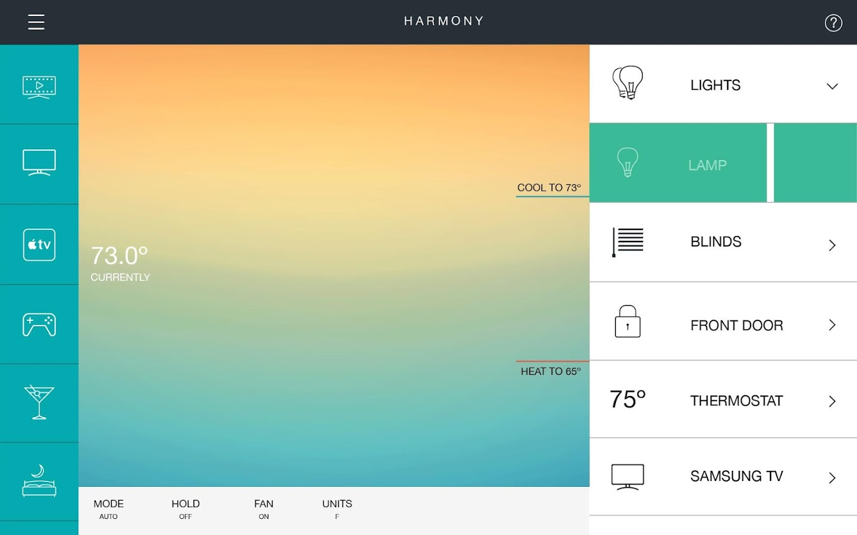 Harmony® - screenshot