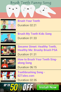 Brush Teeth Funny Song