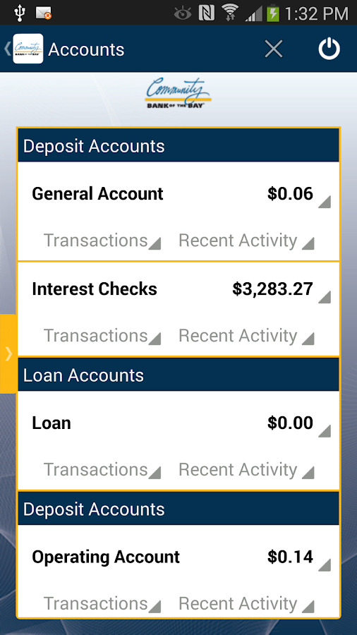 CBB Mobile Banking - screenshot