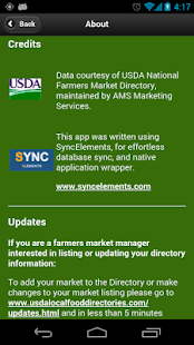 U.S. Farmers Markets- screenshot thumbnail