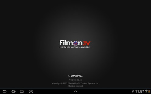 FilmOn EU Live TV Chromecast Screenshot 5