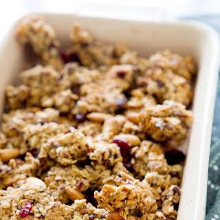 Cranberry Almond Granola Bites.