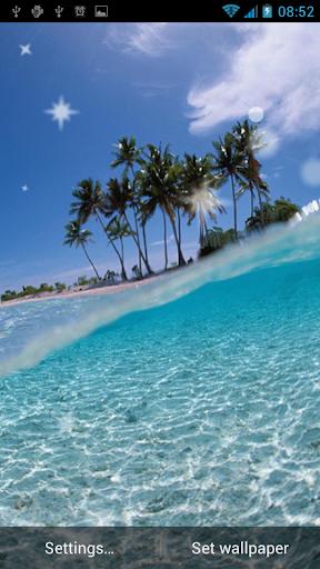 玩免費個人化APP|下載海滩动态壁纸 app不用錢|硬是要APP