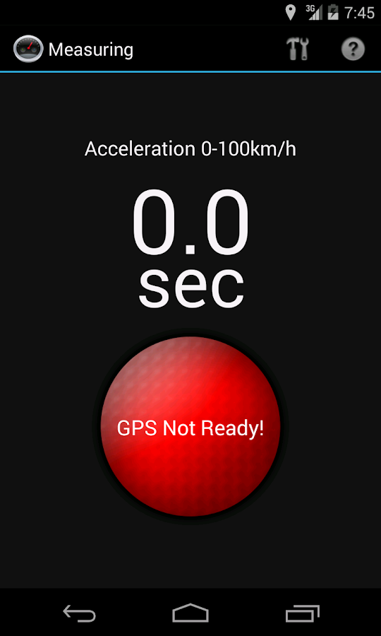 Car Performance Meter- screenshot