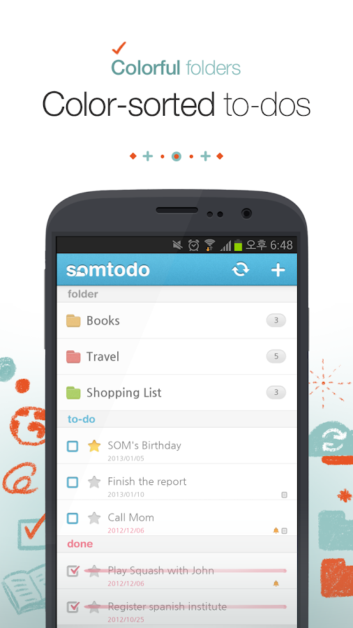 SomTodo - Task/To-Do Manager - screenshot