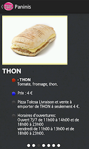 Pizza Tolosa screenshot 2