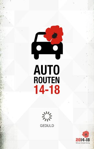 Autorouten Erster Weltkrieg