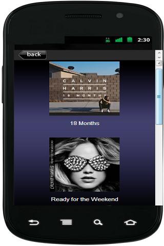 【免費娛樂App】Calvin Harris Released-APP點子
