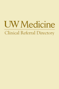 UW Medicine Clinical Directory- screenshot thumbnail