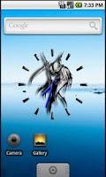 Screenshot of Grim Reaper Clock Widget