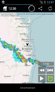 Rain Alarm OSM- screenshot thumbnail
