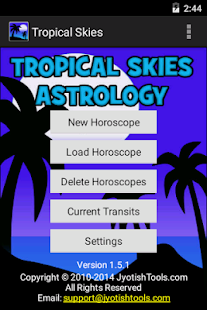 Tropical Skies Astrology- screenshot thumbnail