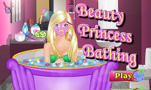 Beauty Princess Bathing