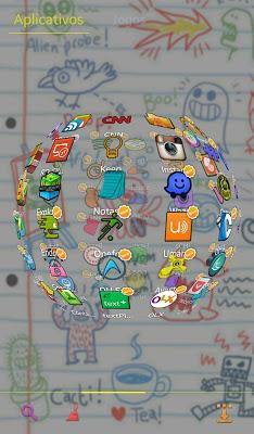 Sketch GO Launcher EX Theme - screenshot