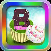Alphabet Number And Cake Match