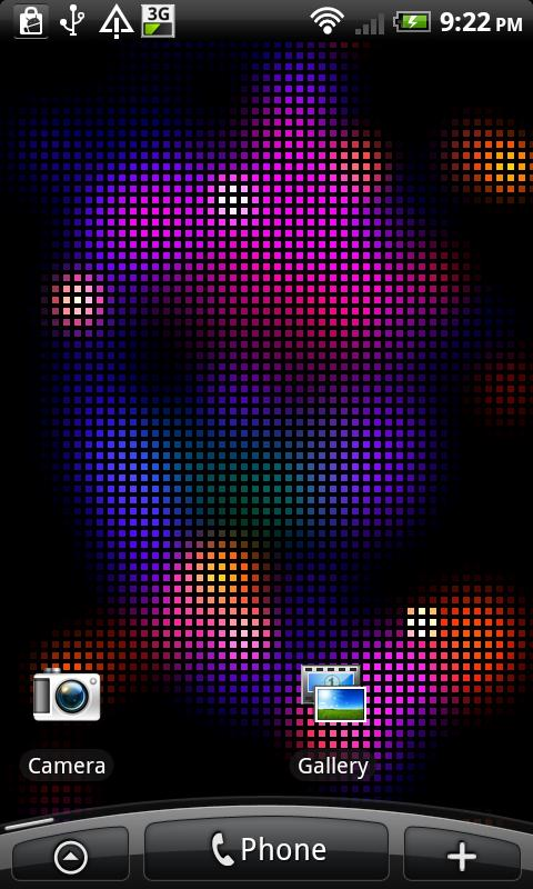 Colors Live Wallpaper- screenshot