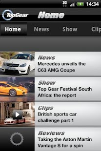 Top Gear: News- screenshot thumbnail