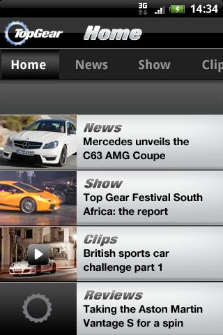 Top Gear: News- screenshot