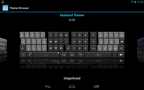 Thumb Keyboard Screenshot 21