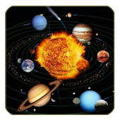Children learn solar system