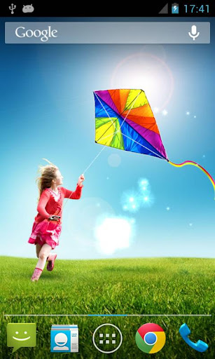 Kite Live Wallpaper