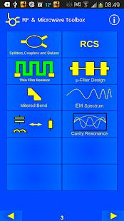 RF & Microwave Toolbox - screenshot thumbnail