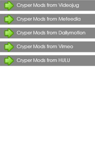Cryper Mods Guide