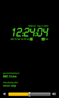 Screenshot of Alarm Clock Radio FREE