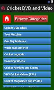 Action Packed Cricket DVDs- screenshot thumbnail