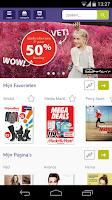 Screenshot of Spotta: folders & aanbiedingen