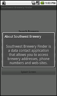 Southwest Brewery Finder- screenshot thumbnail