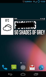 Grumpy Weather Widget- screenshot thumbnail