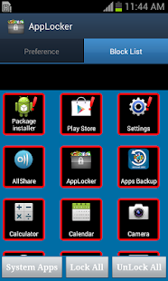 Android App Locker
