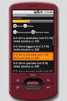 Screenshot of Phone Alcol Test