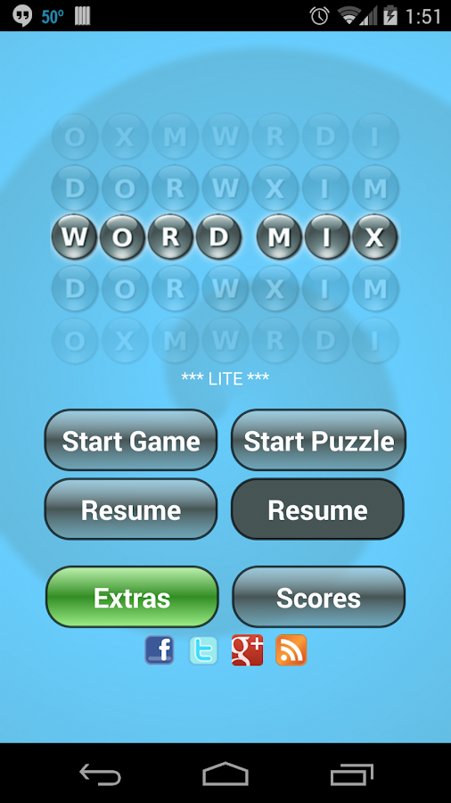 Word Mix Lite ™- screenshot
