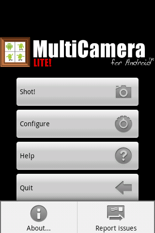 Camera MultiCamera- screenshot