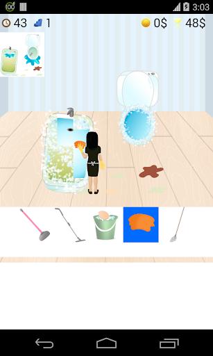 衛生間清潔遊戲