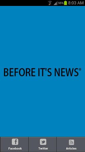 Before It's News International